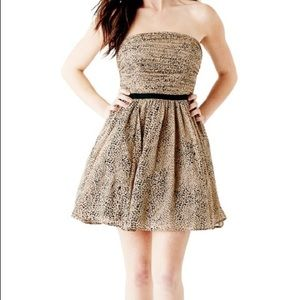 NEW GUESS Victoria Leopard Print Dress!